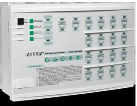 کنترل پنل ۶ زون سیستم اعلام حریق زیتکس مدل۱۸۰۰